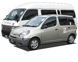 介護タクシーとケアタクシー