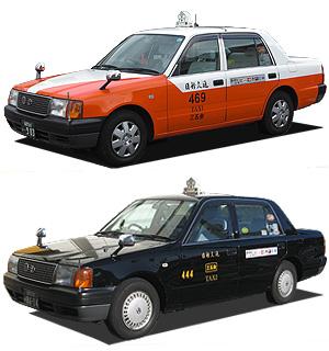 日新交通の普通タクシー