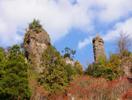 霊厳寺の奇岩