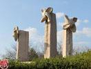 一本松公園巨大石の風車