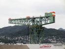 三菱長崎造船所ジャイアントカンチレバークレーン
