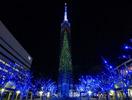 福岡タワーイルミ