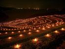 土谷棚田 火祭り