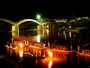 錦帯橋 鵜飼