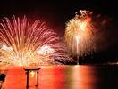 不知火 海の火祭り